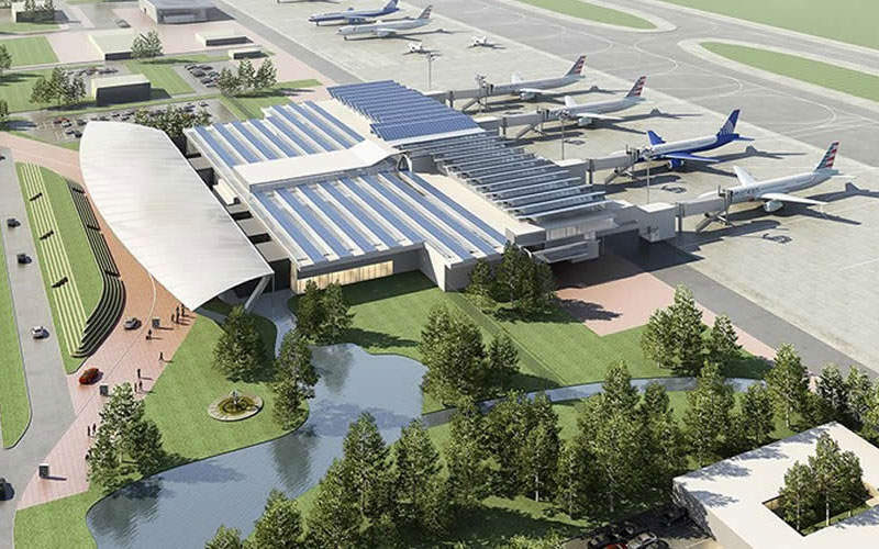 Palmerola airport is a green field airport under construction in the city of Comayagua. Credit: Government of Republic of Honduras.