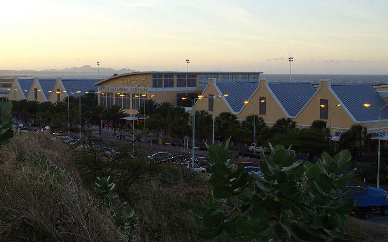 Curacao International Airport initiated terminal expansion project in 2016.  Photo: courtesy of DHC8 via Wikipedia.