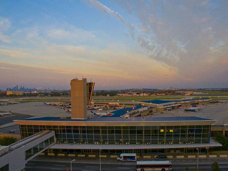 The renovation and expansion at Terminal F of Philadelphia international airport increased its passenger capacity. Image courtesy of Philadelphia International Airport.