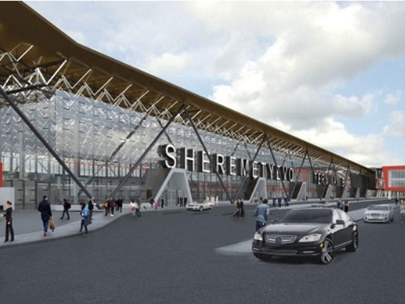 The North Terminal Complex development project involves the construction of a new Terminal B. Image courtesy of Sheremetyevo International Airport.