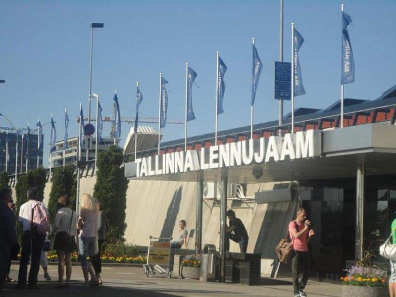 Tallinn airport is the biggest airport in Estonia. Image courtesy of Bill william Compton.