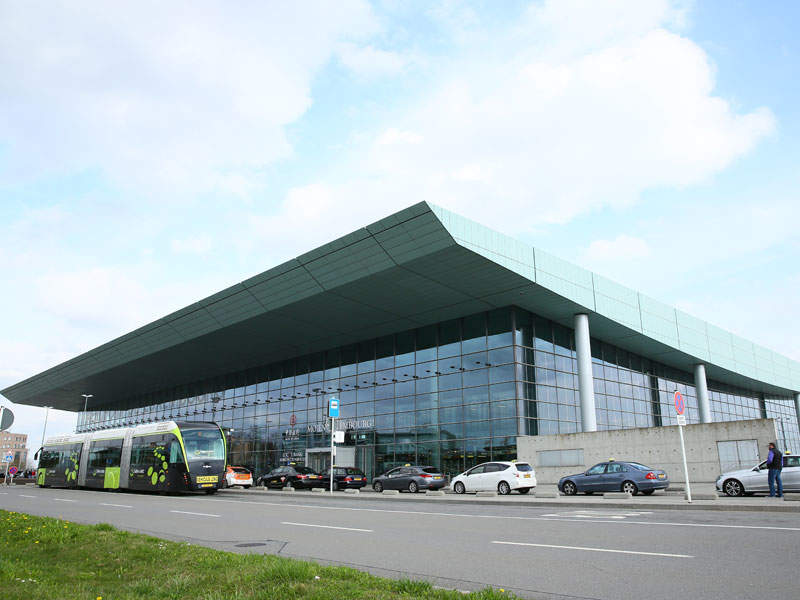 Terminal A at Luxembourg Airport has reached its maximum capacity of three million passengers a year. Image courtesy of J. Bands/ lux-Airport.