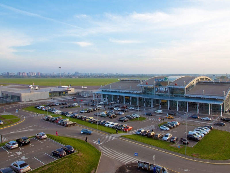 Terminal A is the main terminal at Igor Sikorsky Kyiv airport. Image: courtesy of Kyiv International Airport.
