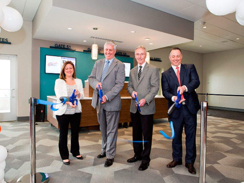 The City of Austin Department of Aviation officially launched the newly renovated South Terminal at Austin Bergstrom airport in April 2017. Image courtesy of City of Austin.