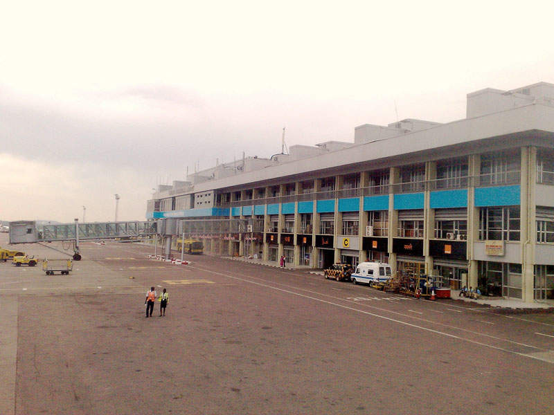 Entebbe International Airport in Uganda was opened in 1951. Image courtesy of PetterLundkvist.