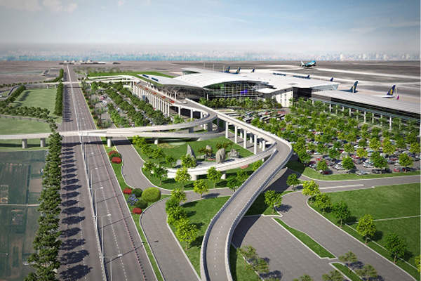Noi Bai international airport officially opened a new terminal named T2 in December 2014. Image courtesy of Airports Corporation of Vietnam.