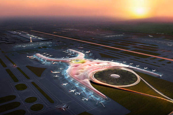 The Mexico City New International Airport will become a landmark to the city. Credit: Foster + Partners.