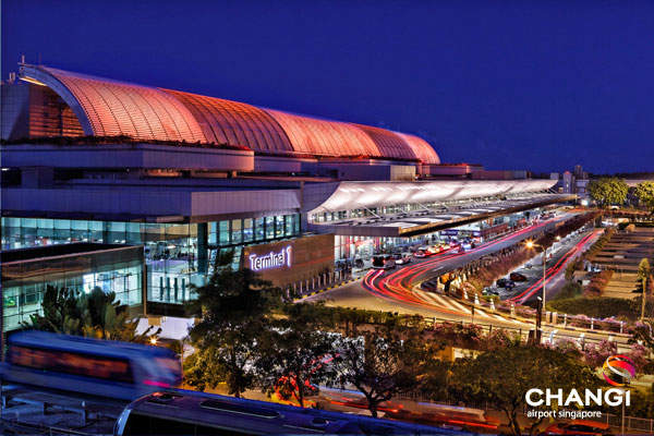 Terminal 1 at Changi International Airport is undergoing a major expansion. Image courtesy of Changi Airport Group (
