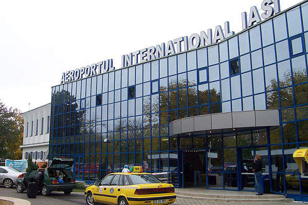 The Iasi International Airport was first modernised in 1969. Image courtesy of Cristibur.