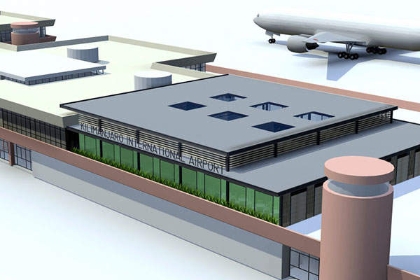 Kilimanjaro International Airport (KIA) announced a €37m ($40m) expansion project in 2015. Image courtesy of BAM International.