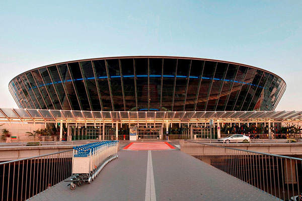 Passenger terminal renovation at Nice Côte d'Azur international airport began in January 2015. Image courtesy of Aéroports de la Côte d'Azur.