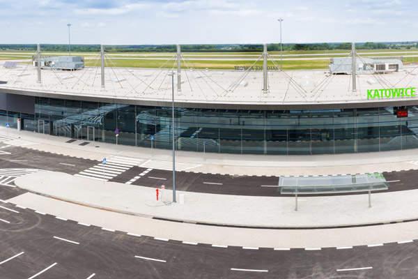 Terminal C at Katowice International Airport was opened in June 2015. Image courtesy of Skanska.