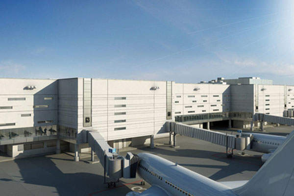Terminal 4 expansion will add a new concourse G with four new gates. Image courtesy of Broward County.