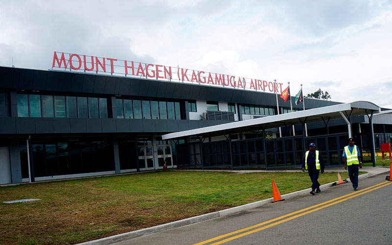 The upgraded terminal at Kagamuga International Airport was opened in November 2015. Image courtesy of Air Niugini Limited.