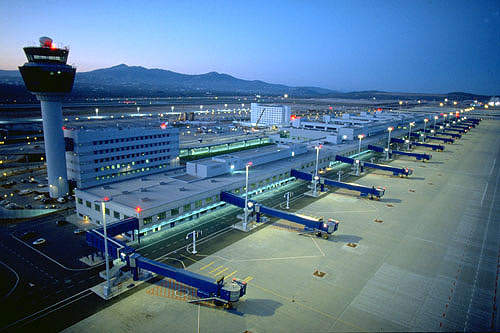 Athens International Airport, about 30km east of Athens, Greece, was officially opened in March 2001.