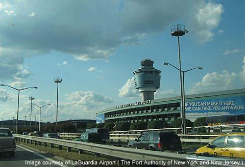 LaGuardia handled around 24.1 million passengers in 2011.