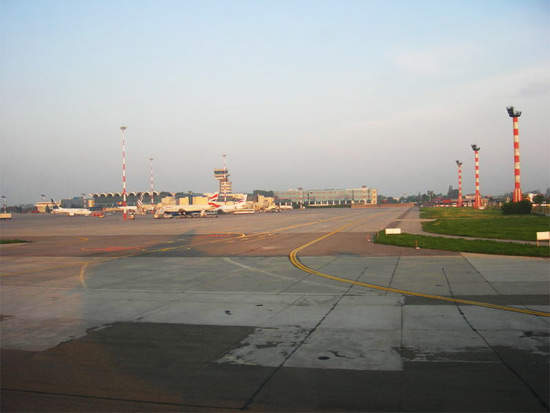 Henri Coandă International Airport is located in Otopeni, 16.5km north-west of Bucharest, Romania.