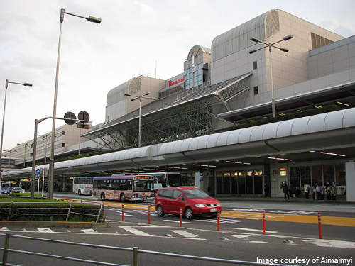 Terminal 1 of Haneda Airport.