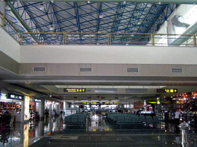 Noi Bai International is a clean and modern airport situated in northern Vietnam.