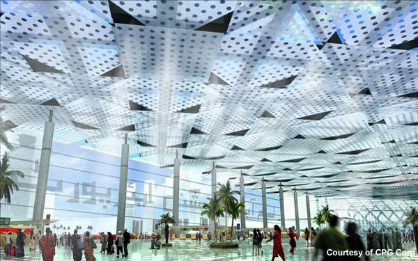 The new airport replaced the over-capacity Islamabad International Airport at Chaklala. Credit: Image courtesy of CPG Corp.
