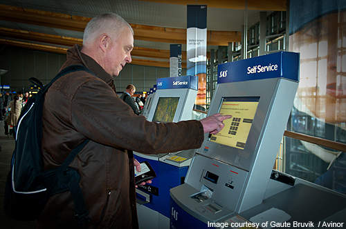 ATM facilities are available throughout the airport.