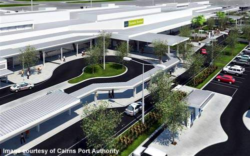 Cairns Port Authority will invest A$290m in airport development.