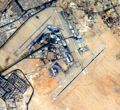 Cairo Internaitonal Airport is 15km north-east of Cairo.