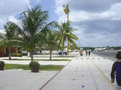 Cancun Airport is modern, but is now going through additional changes to prepare it for a large influx of passengers.