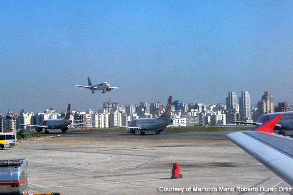 The airport is owned and operated by Infraero, a company owned by the Brazilian Government.