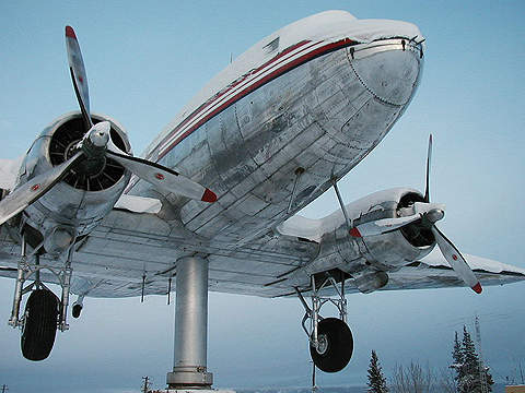 It was built in 1940 by the Department of Transport. It is owned and operated by the Government of the Yukon Territory.