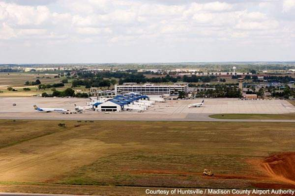 Plans are now afoot to lengthen the two runways at Huntsville International.