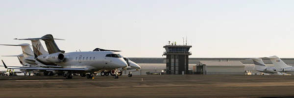 Lanseria airport is considered as a low-cost alternative to Johannesburg's O R Tambo International Airport. Image courtesy of Lanseria International Airport.