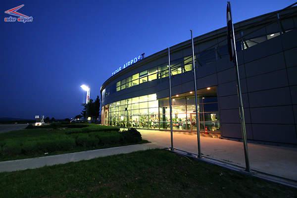 Zadar International Airport has two passenger terminals. Image courtesy of Zadar Airport.