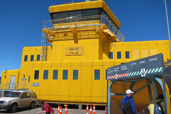 The international terminal building of Iqaluit Airport was expanded as a part of the IIAIP project. Image courtesy of US Mission Canada.