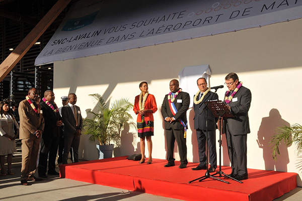 The terminal was inaugurated by the President of the French Republic in August 2014. Image: courtesy of Airport Mayotte Dzaoudzi – Pamandzi.