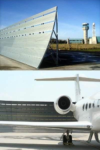 Blast Deflectors Airport Technology