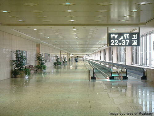 King Fahd International Airport has a three floor concourse. Credit: Moaksey.