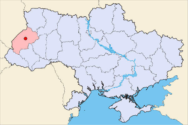 Lviv is situated in western Ukraine. Its airport provides easy access to Europe.