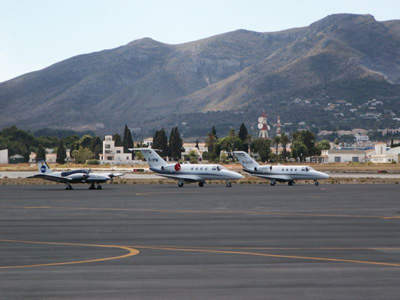 The apron areas of Malaga Airport will be extended as well.