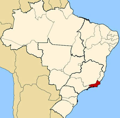 Rio de Janeiro in Brazil is the regional capital and is served by two airports.
