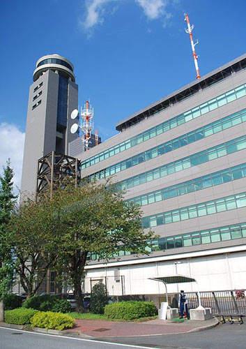The control tower at Narita International Airport.