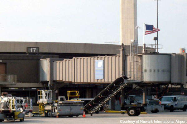 Newark Liberty Airport handled over 37 million passengers in 2007.