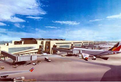 Terminal 3 apron areas.