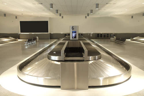 New baggage carousels.