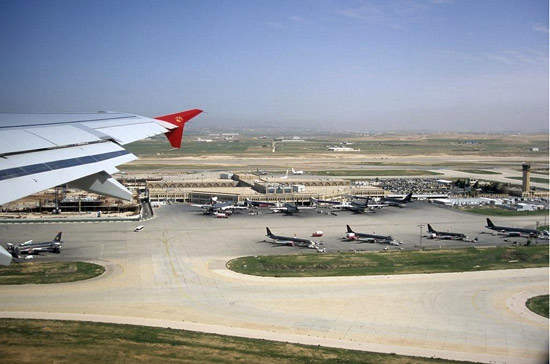 Queen Alia international airport.