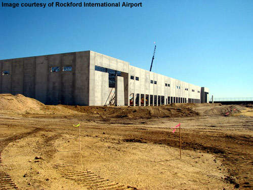 The 72,000ft² building is the first phase of the Tandem project at Rockford International.