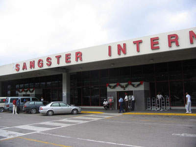 The old terminal building prior to expansion.
