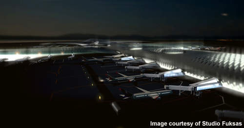The new terminal will make Shenzhen the fourth largest airport in China.