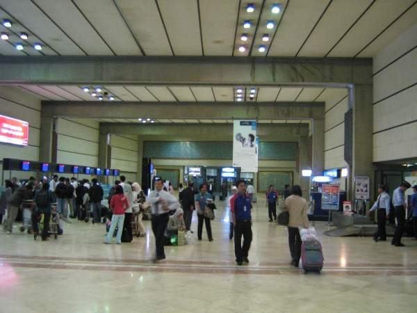 Arrival hall of the Soekarno Hatta International Airport. Image courtesy of Afrogindahood.