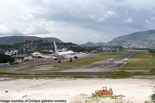 In March 2010, the length of runway 02/20 was extended from 1,863m to 2,163m.